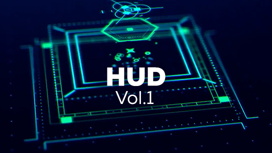 HUD and FUI elements bundle