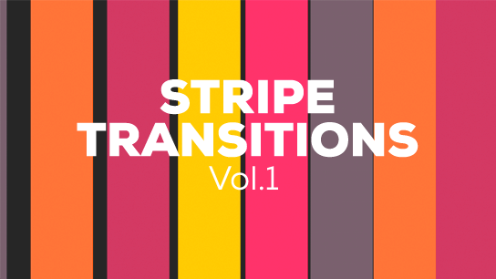 Vector stripe transitions