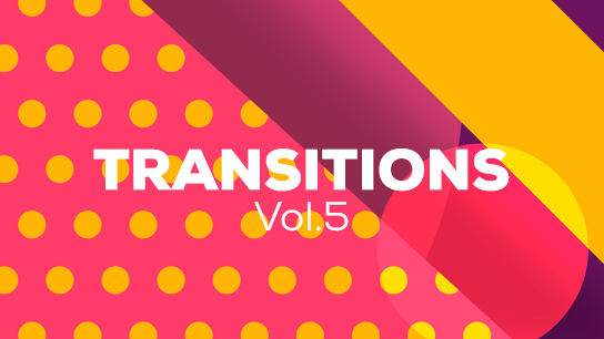 Translusent pattern transitions