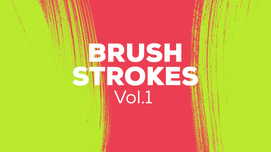 Brush paint animated strokes
