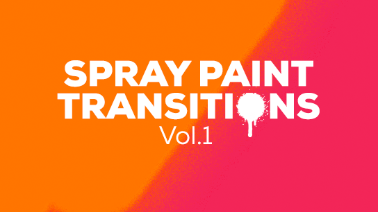Spray transition